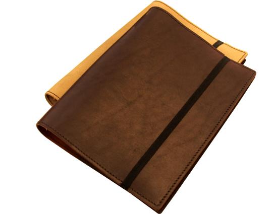 carnet de notes en cuir avec fermeture lastique s27 s28 s29 lakange. Black Bedroom Furniture Sets. Home Design Ideas