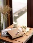 Livre d'or - carnet de note ou dessin en cuir