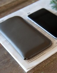 Etui téléphone portable en cuir