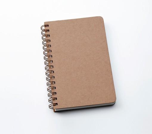 Carnet de note-spirale-papier recyclé-lakange-labrador
