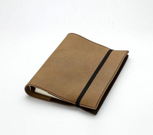 carnet de notes organiseur en cuir fermeture lastique. Black Bedroom Furniture Sets. Home Design Ideas