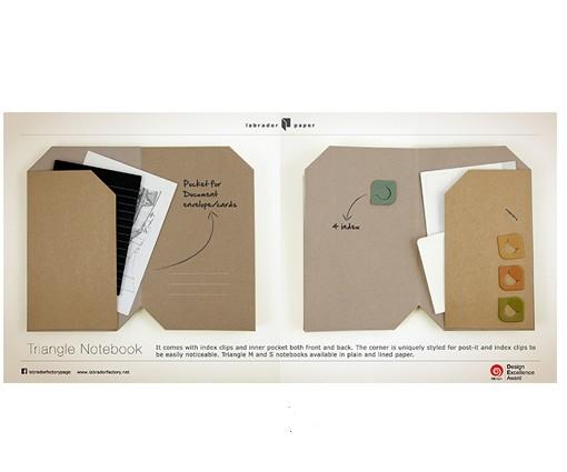 carnets de notes-papier-ecriture-recyclé-labrador