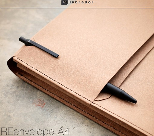 labrador-porte document cuir-recycle-cuir-lakange-enveloppe.4