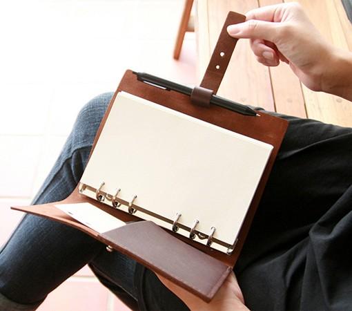organiseur-agenda-organizer-carnet de note-carnet à dessin-carnet de voyage-a5-a6-a7-cuir)