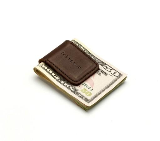 pince à billet-cuir-chic-cadeau-affaire-lakange-labrador-money clip (1)