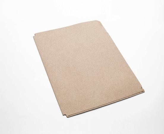 Porte documents en cuir recyclé avec intercalaires