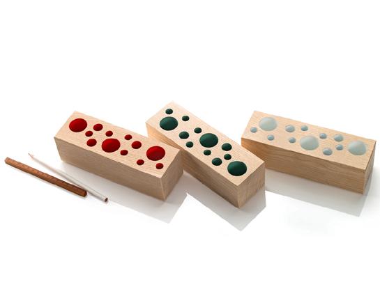Pot à crayons en bois Brixxs