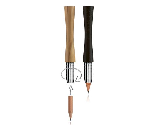 Use bout – Porte crayon en bois précieux