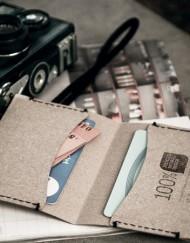 porte carte-labrador-cuir-recycle-cuir-lakange-chic-homme-femme-cadeau-affaire ecologique-bio