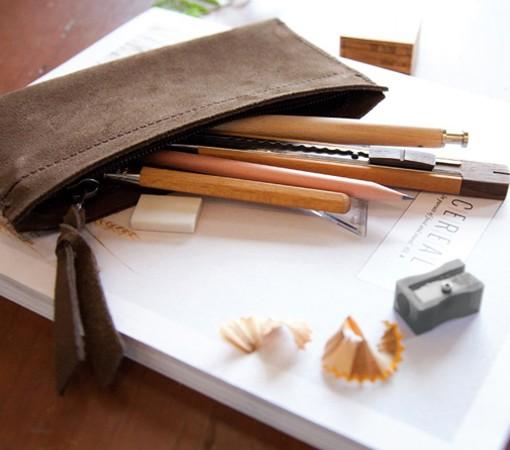 pochette-cuir-lakange-pochette ipad-trousse cuir - trousse maquillage -labrador-pochette cuir femme.1