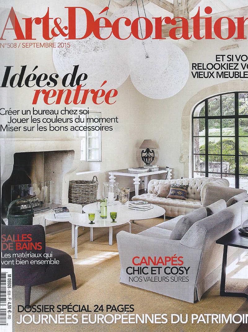 le carnet de note en cuir labrador dans le magazine art et. Black Bedroom Furniture Sets. Home Design Ideas