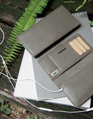 porte telephone cuir - lakange-labrador
