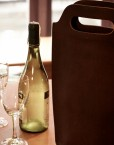 sac porte bouteille cuir - sac seau cuir; cuir lakange - labrador ;1