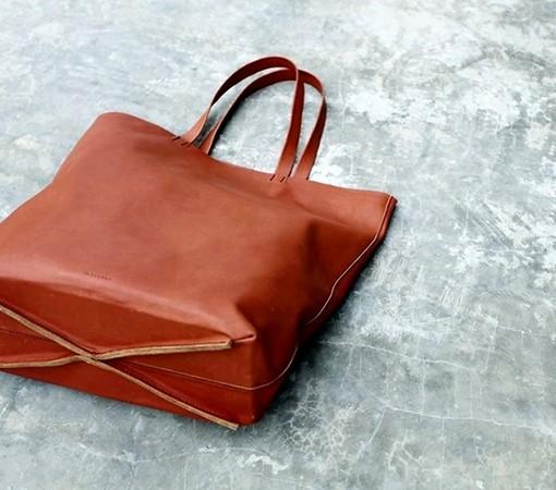 sac cuir femme - tote bag cuir-sac cuir labrador