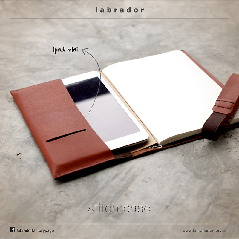 carnet de note cuir lakange porte carnet chic affaire cadeau design recycl range ipad mini. Black Bedroom Furniture Sets. Home Design Ideas