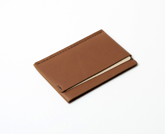 Porte cartes en cuir « Simple »