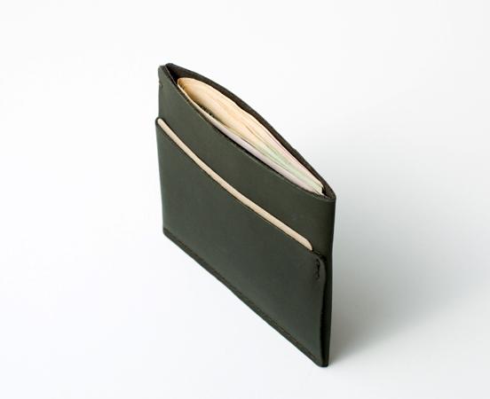 Portefeuille et porte cartes en cuir «Simple»